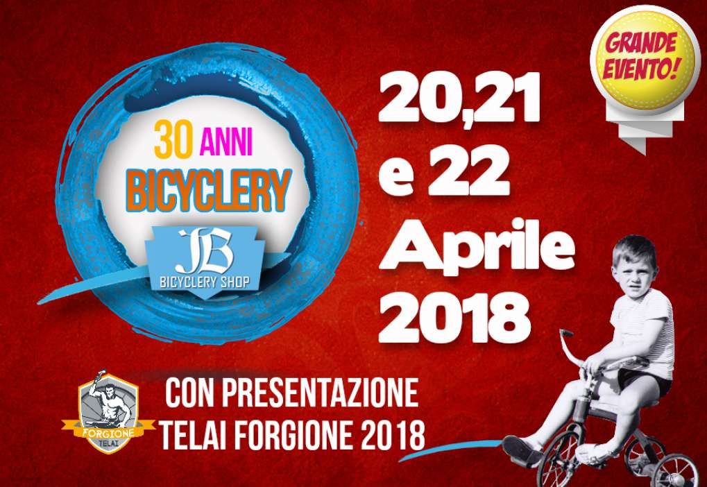 30 anni di Bicyclery Taurasi